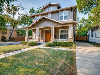 Single Family Home For Sale: 5301 Miller Avenue
