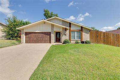 Bedford Single Family Home Active Option Contract: 2317 Mesquite Court W