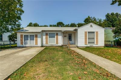 Grand Prairie Single Family Home Active Option Contract: 1118 Skyline Road