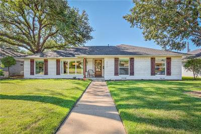 Dallas County Single Family Home Active Option Contract: 9212 Loma Vista Drive