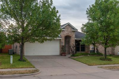 Waxahachie Single Family Home Active Option Contract: 1622 Hillside Drive