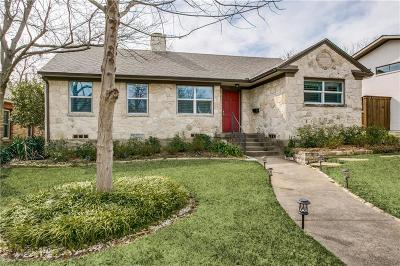 Dallas Single Family Home For Sale: 6910 Wildgrove Avenue