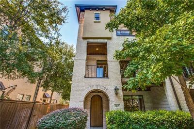Dallas Townhouse For Sale: 3230 Blackburn Street