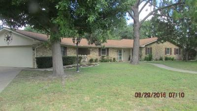 Stephenville Single Family Home For Sale: 1317 Inglewood Drive