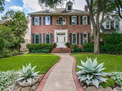 Dallas County Single Family Home For Sale: 3215 Amherst Avenue