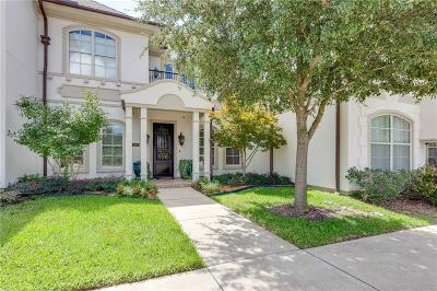 Colleyville Townhouse For Sale: 1600 Pecan Crossing Drive
