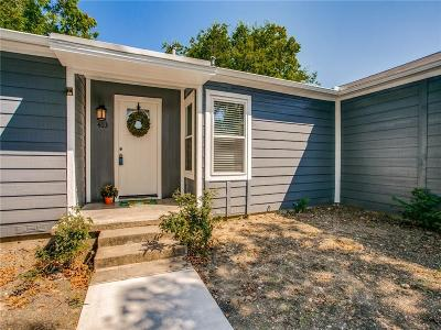 Wylie Single Family Home For Sale: 403 Masters Avenue
