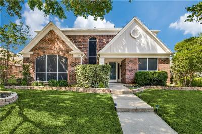 Lewisville Single Family Home Active Option Contract: 1335 Summertime Trail