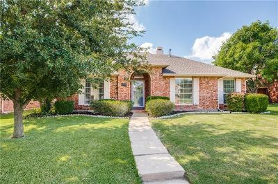 Frisco Single Family Home Active Option Contract: 10705 Columbia Drive