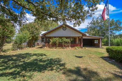 Erath County Single Family Home For Sale: 7634 N State Highway 108
