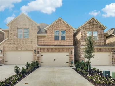 Plano Townhouse For Sale: 4508 Titus Circle