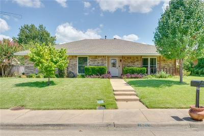 Lewisville Single Family Home Active Option Contract: 1921 Maxwell Drive