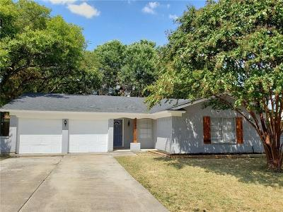 Arlington Single Family Home Active Option Contract: 1915 Chalice Road