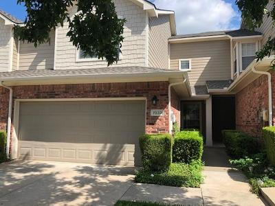 Plano Townhouse For Sale: 7033 Van Gogh Drive