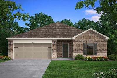 Mabank Single Family Home Active Contingent: 302 Breaux Lane