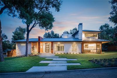 Dallas Single Family Home For Sale: 7406 Kenshire Lane