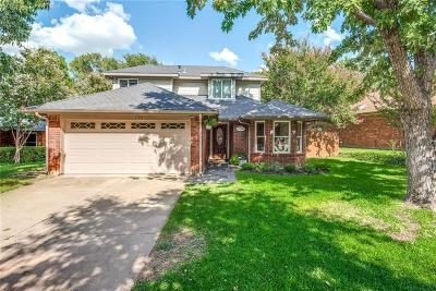 Grapevine Single Family Home Active Option Contract: 1708 Overlook Drive