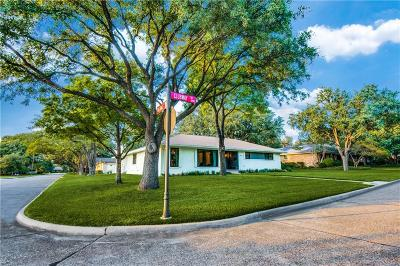 Farmers Branch Single Family Home For Sale: 3905 Clubway