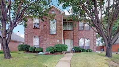 Lewisville Single Family Home Active Option Contract: 1403 Stone Canyon Way