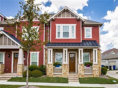 Frisco Townhouse For Sale: 4090 Washburne Drive