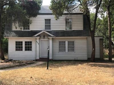Dallas Single Family Home For Sale: 633 N Vernon Avenue
