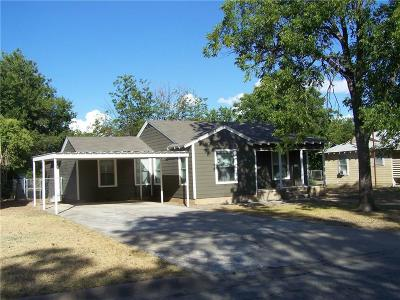 Brownwood TX Single Family Home For Sale: $164,900
