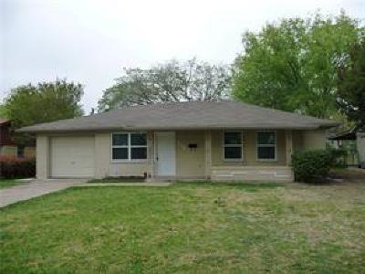 Garland Residential Lease For Lease: 213 E Vista Drive