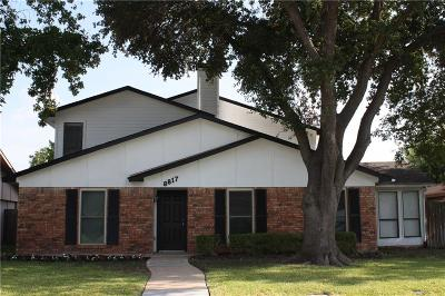Rowlett Single Family Home For Sale: 8817 Miami Drive