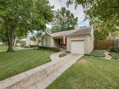 Dallas Single Family Home For Sale: 5730 Southwestern Boulevard