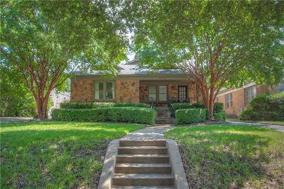 Fort Worth Single Family Home For Sale: 2563 Stadium Drive