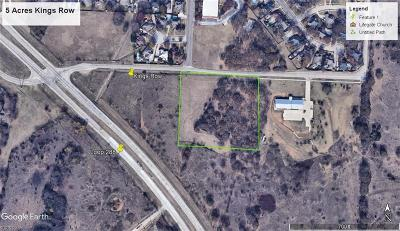 Denton Commercial Lots & Land For Sale: 00 Kings Row