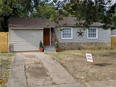Grand Prairie Single Family Home For Sale: 2102 Rosewood Street