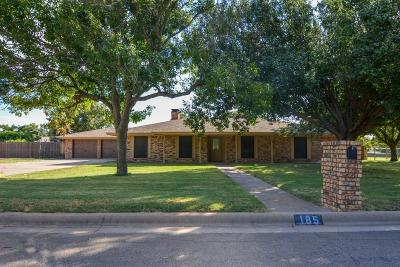 Stephenville Single Family Home For Sale: 185 Brittain Circle
