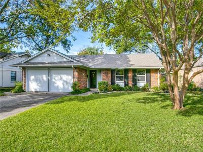 Richardson Single Family Home For Sale: 606 Stardust Lane