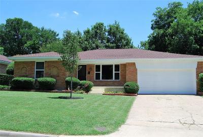 Dallas Single Family Home For Sale: 8010 Fall River