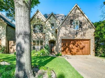 Dallas Single Family Home For Sale: 4331 Woodcrest Lane