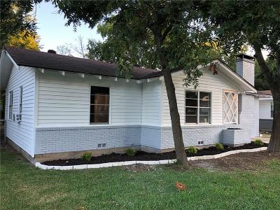 Cleburne Single Family Home For Sale: 911 Euclid Street
