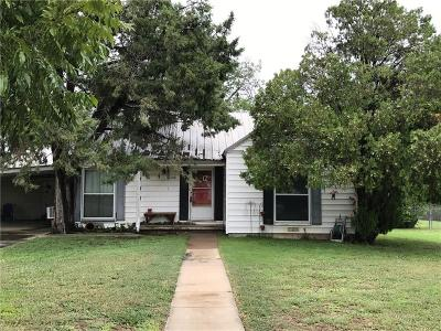 Brownwood Single Family Home For Sale: 1008 La Monte Drive