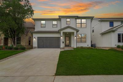 Dallas County Single Family Home For Sale: 6231 Velasco