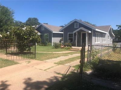 North Fort Worth Single Family Home For Sale: 1506 Lee Avenue