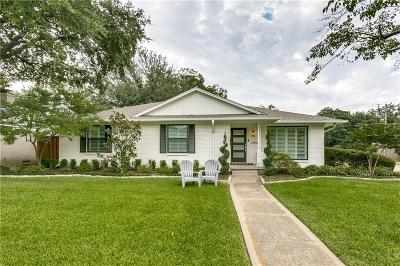 Dallas Single Family Home For Sale: 6906 Dalhart Lane
