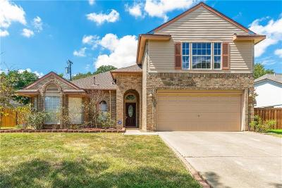 Grapevine Single Family Home Active Option Contract: 2150 Wedgewood Drive