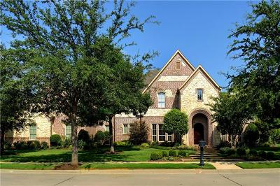 Tarrant County Single Family Home Active Option Contract: 1617 Wicklow Lane