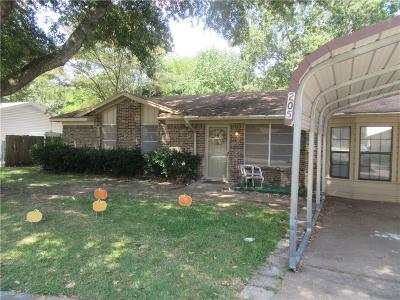 Terrell Single Family Home For Sale: 205 Leighton Drive
