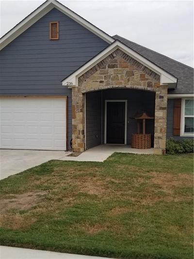 Parker County Single Family Home For Sale: 236 Firefly Drive