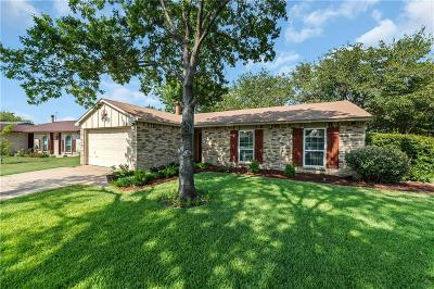 North Richland Hills Single Family Home Active Option Contract: 7149 Newcastle Place