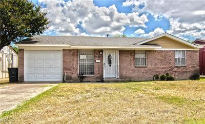 Dallas Single Family Home For Sale: 3718 Happy Canyon Drive