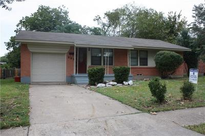 Garland Residential Lease For Lease: 221 W Daugherty Drive