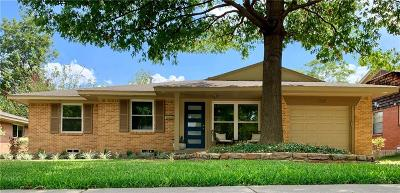 Single Family Home For Sale: 1221 Dalhart Drive