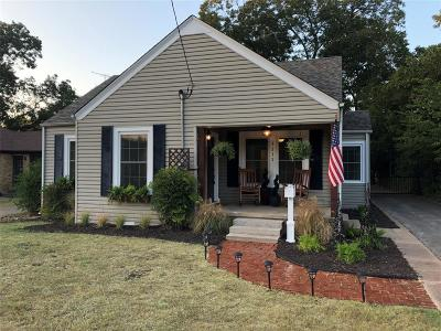 Single Family Home For Sale: 1217 Park Drive